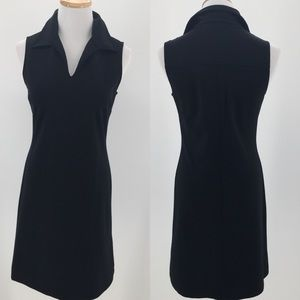 Banana Republic Black Sleeveless Sheath Dress XS